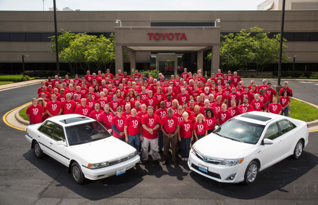 Zehn Millionen Toyota aus Kentucky