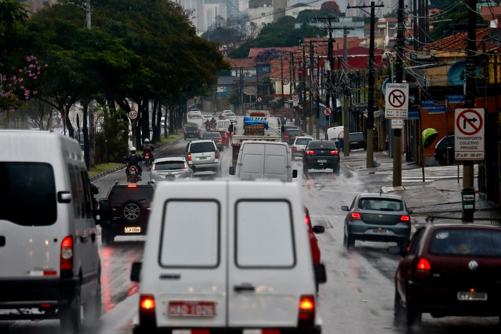 Zu Gast im Stau von Sao Paulo