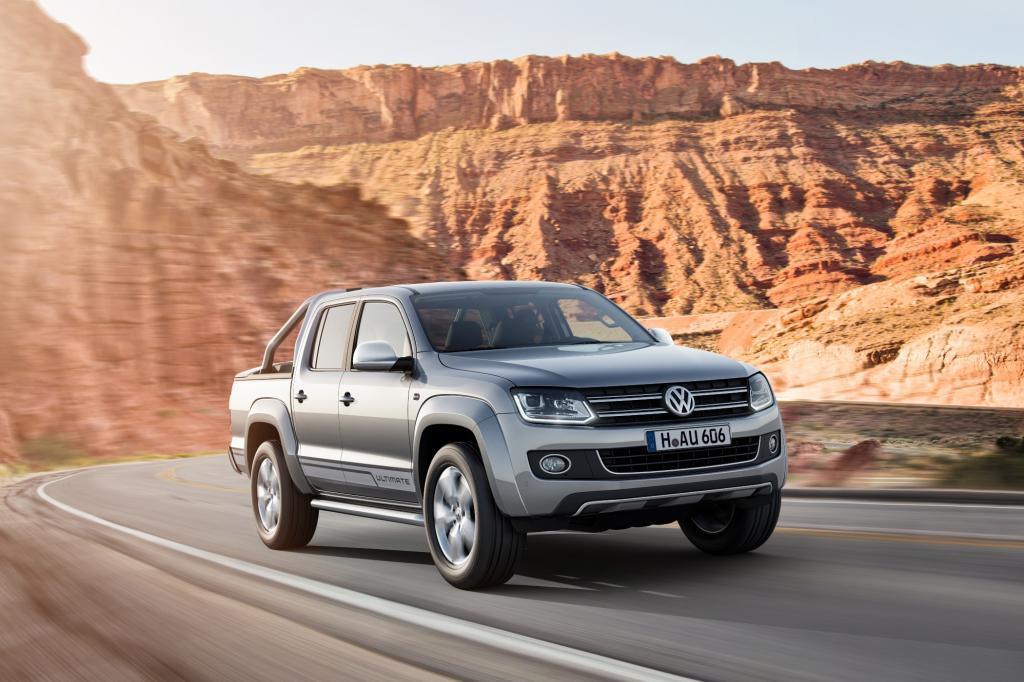 Zum neuen Modelljahr wertet VW Nutzfahrzeuge den Amarok mit einem Sondermodell auf.