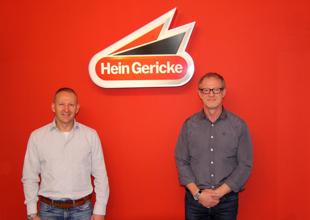 Zwei neue Geschäftsführer bei Hein Gericke