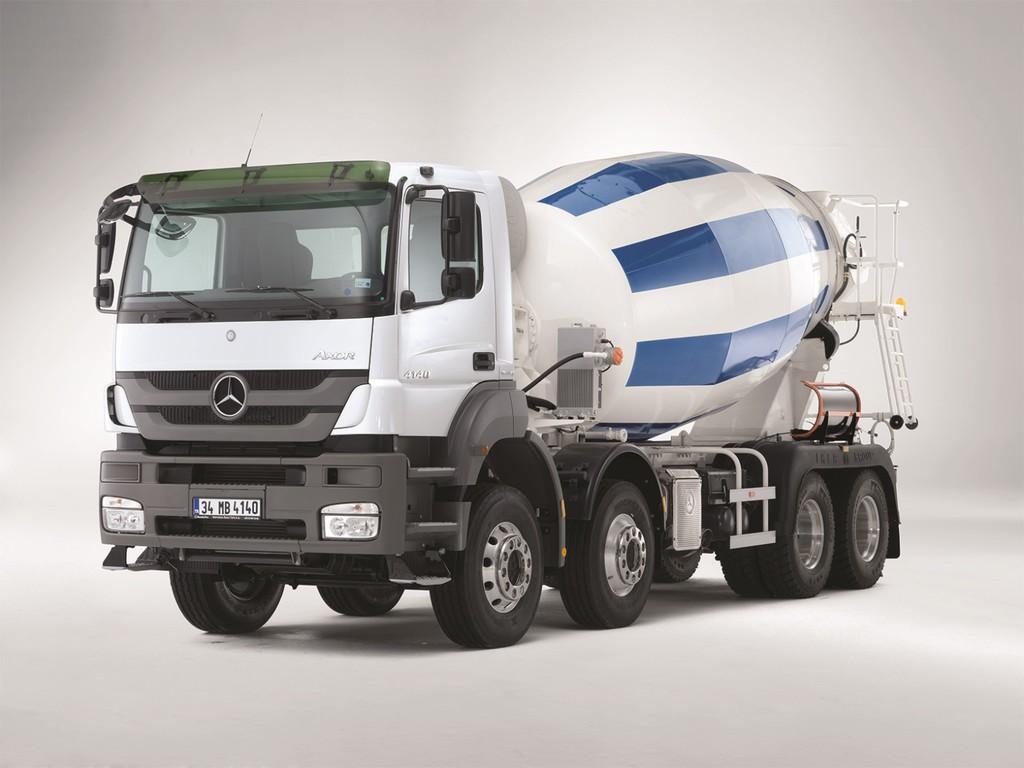 144 Mercedes-Benz Axor in der Türkei bestellt