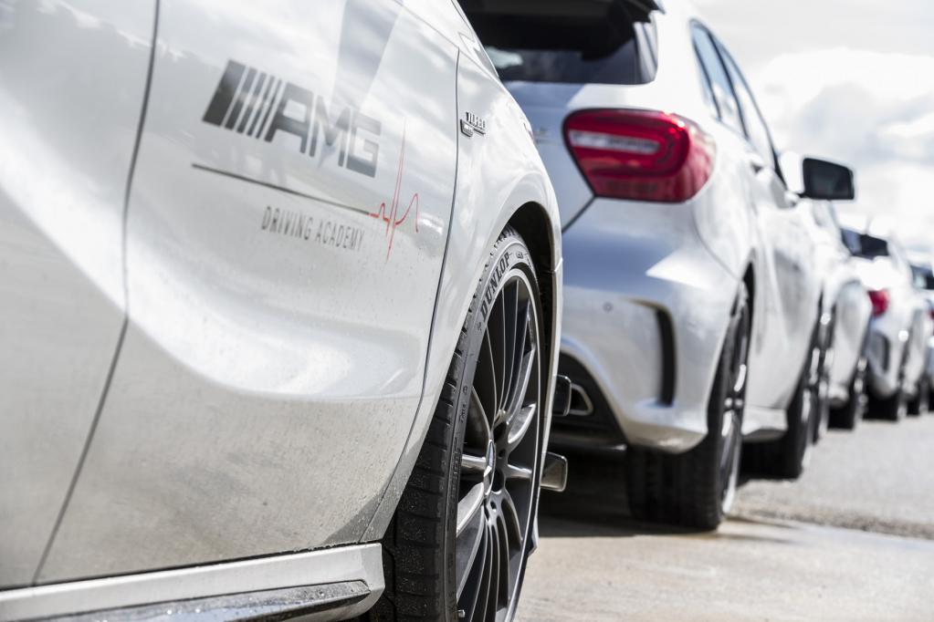 AMG Driving Academy rollt auf Dunlop-Reifen