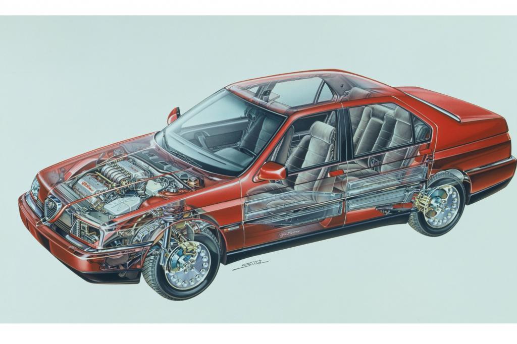 Alfa Romeo 164 Durchsicht ab 1992