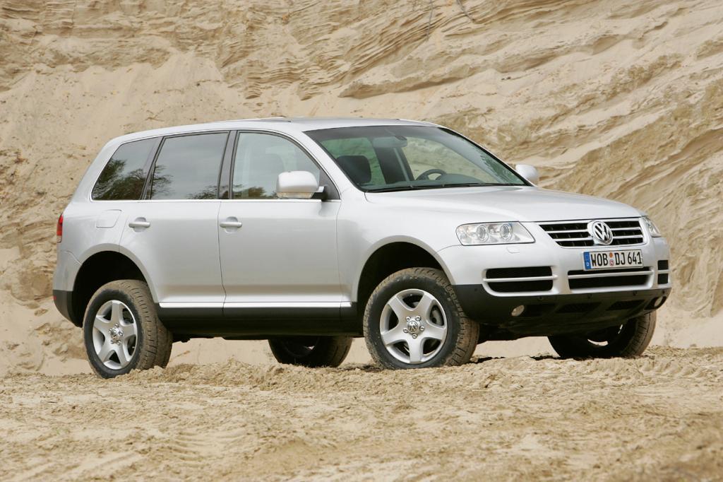 Als eine Art Universalgenie brachte VW 2002 mit dem Touareg den ersten Geländewagen der Marke in den Handel: Reisewagen, Familienkutsche, Wohlfühloase, Zugfahrzeug, Sicherheitszelle, Offroader