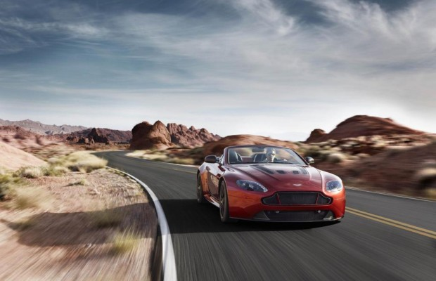 Aston Martin hebt ab: Roadster mit 323 km/h