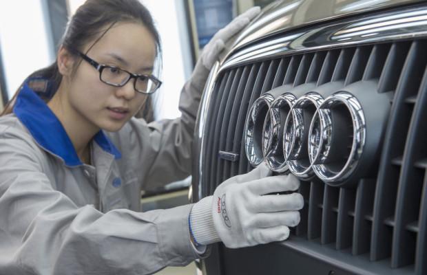 Audis China-Geschäft brummt