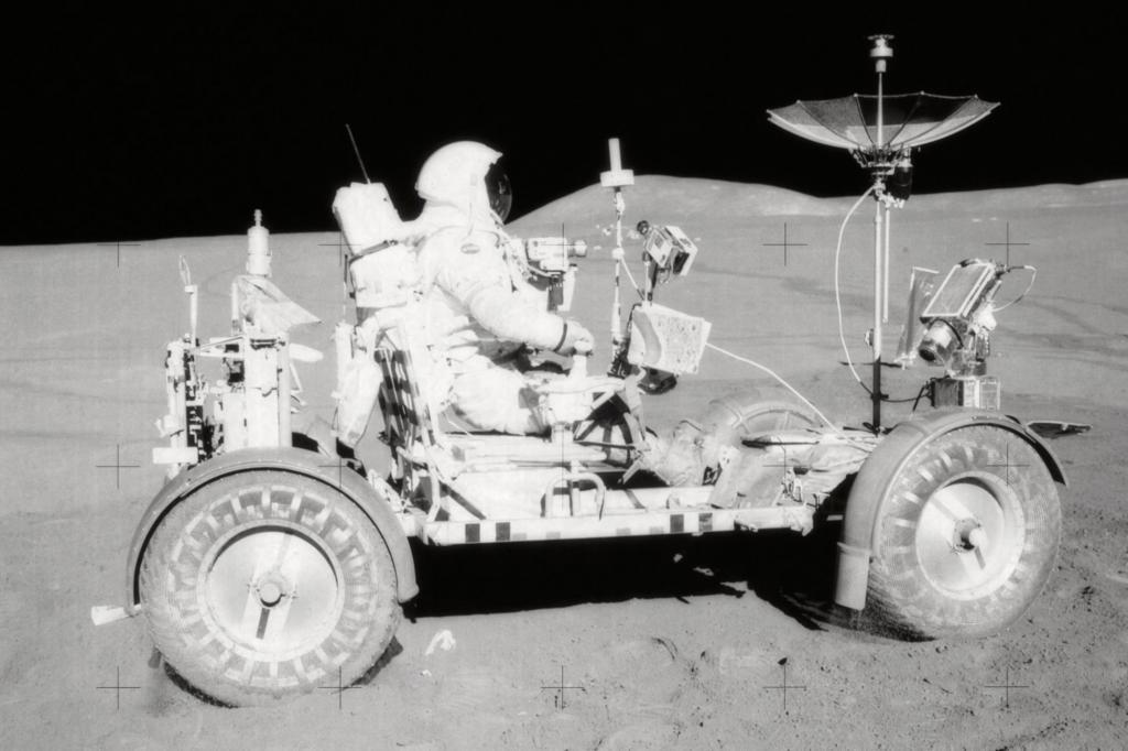 Auf Tour mit dem Mondauto