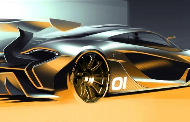 Auf die Rennstrecke mit dem McLaren P1 GTR