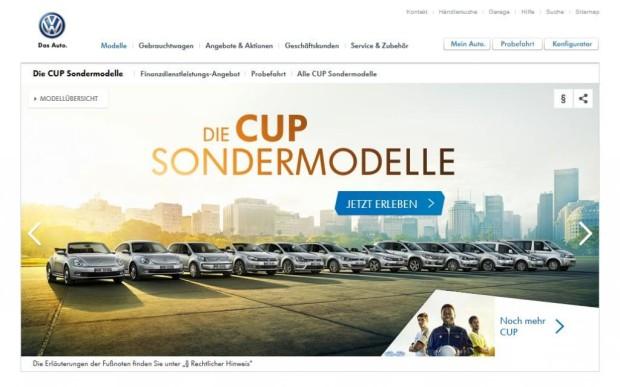 Autowerbung - Fuball-WM lsst VW-Werbeausgaben explodieren