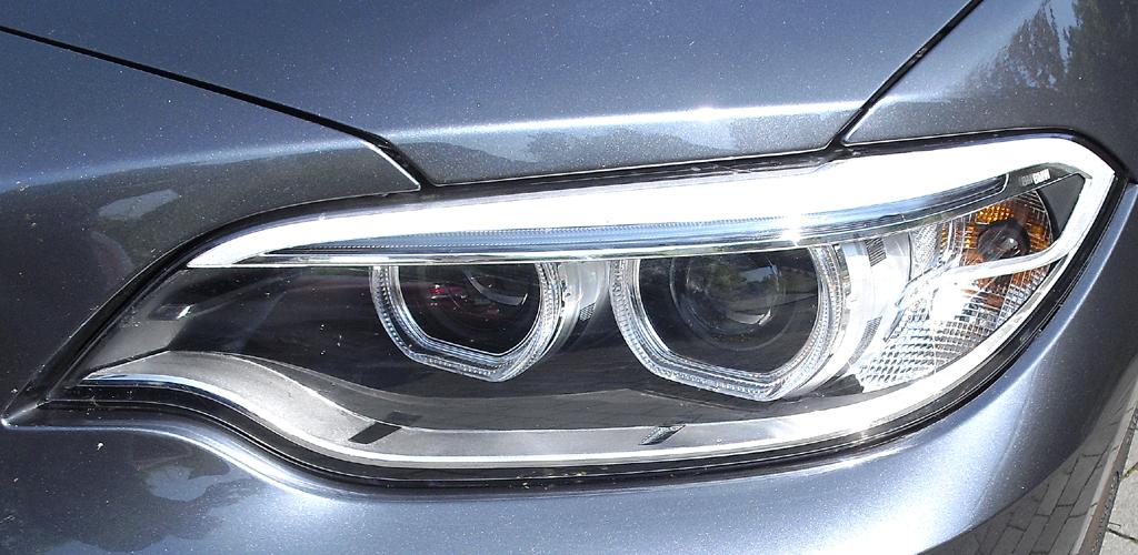 BMW 2er-Coupé: Moderne Leuchteinheit vorn