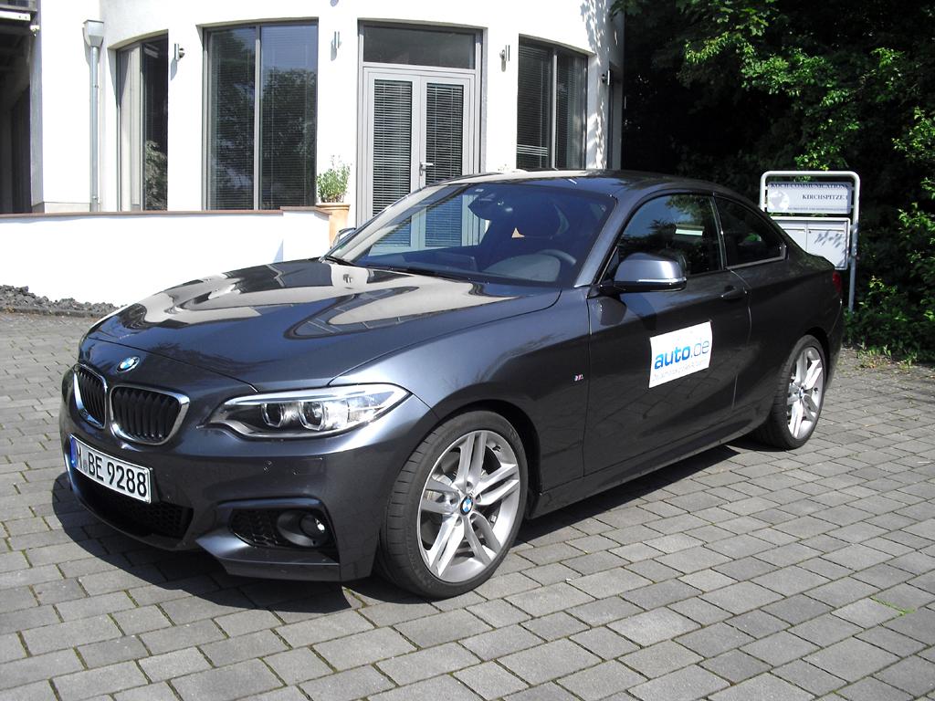 BMW 2er-Coupé, hier als mittlerer Diesel mit 135/184 kW/PS.