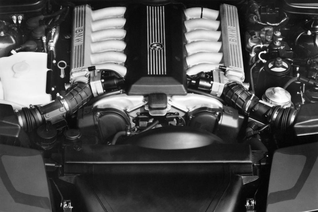BMW 850i Motor ab 1989