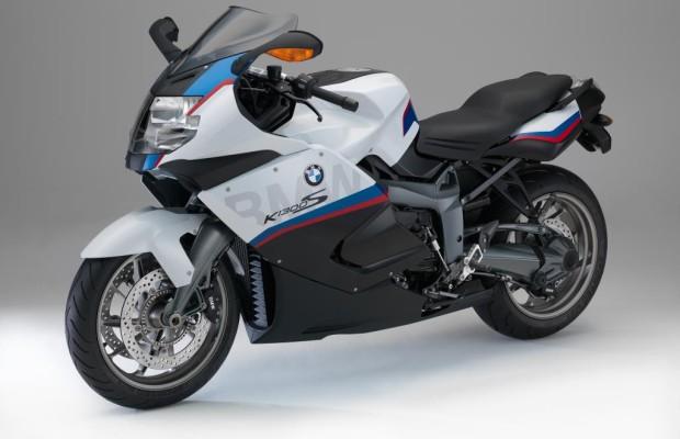 BMW K 1300 S Motorsport - Blauweiß auf Tour
