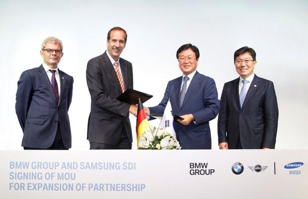 BMW und Samsung bauen Batterielieferungen aus