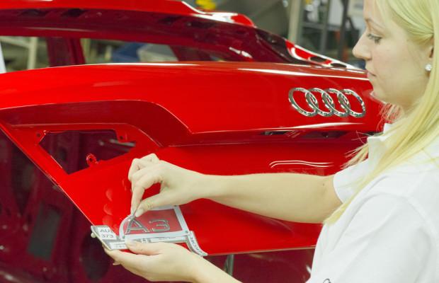 Bestes erstes Halbjahr bei Audi