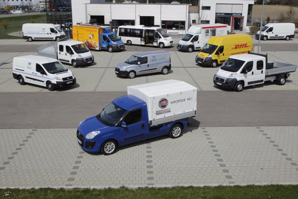 Branchen-Lösungen für Fiat Nutzfahrzeuge