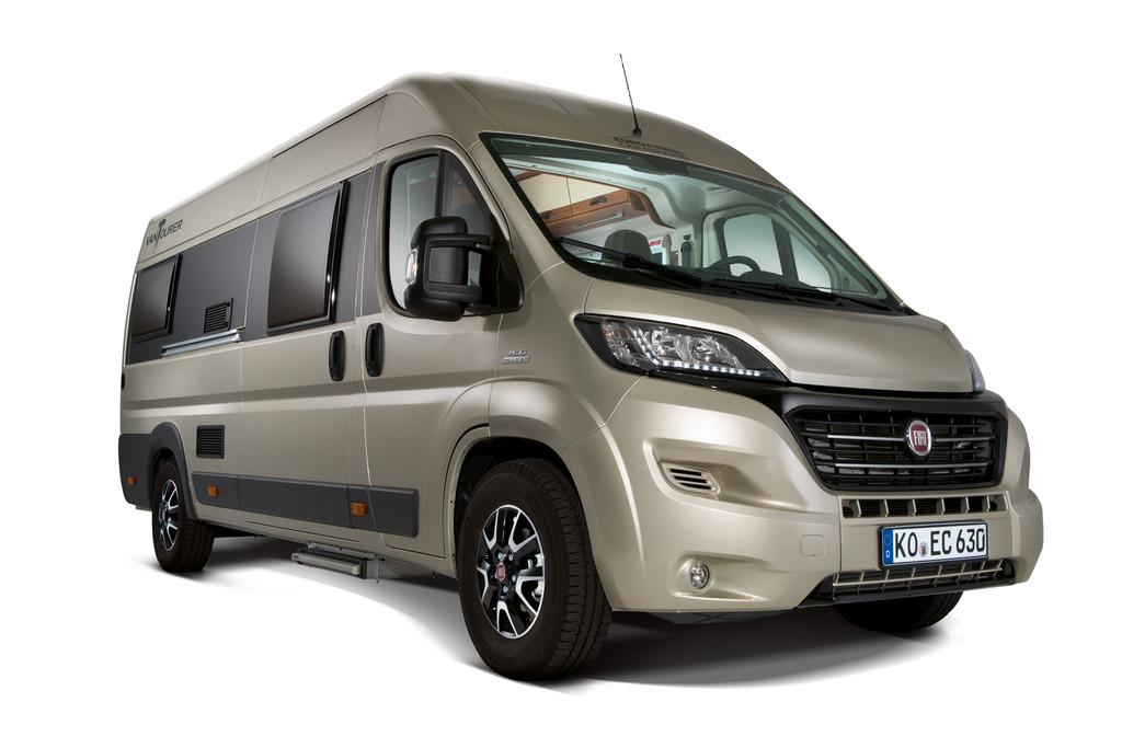 Caravan-Salon 2014: Eurocaravaning optimiert den Vantourer