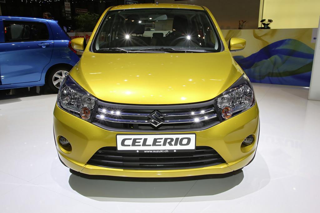Celerio - Der kleinste Suzuki kommt im November