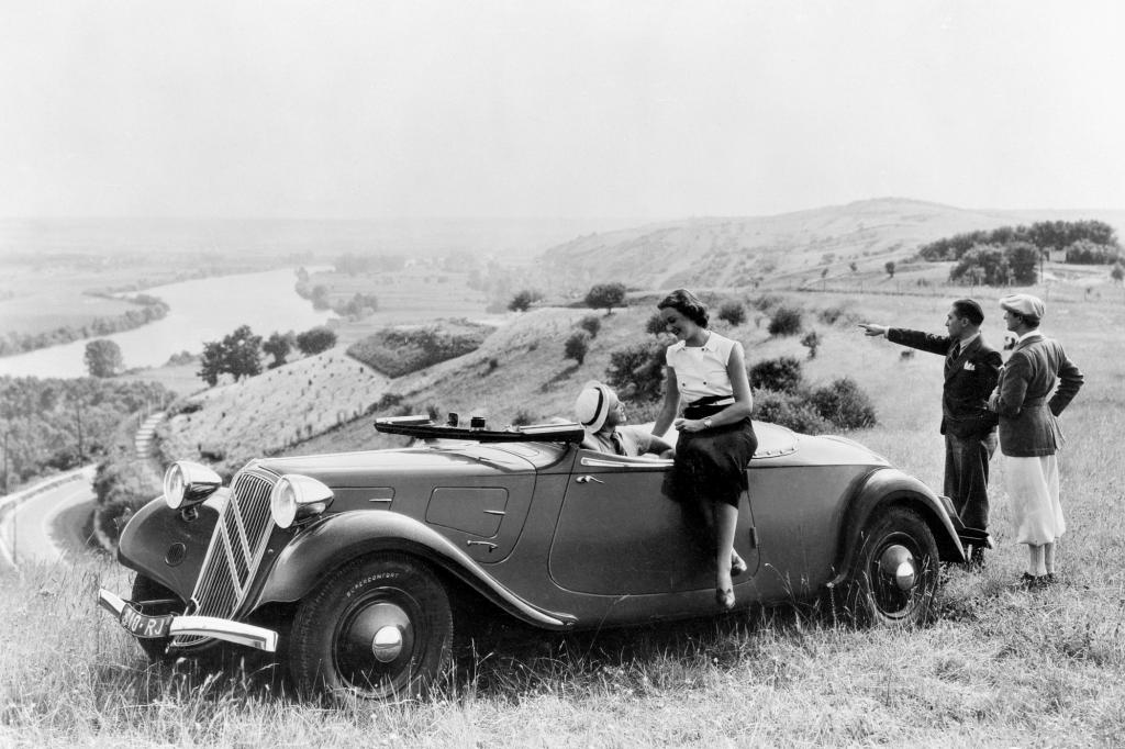 Citroen Traction Avant 11A Cabriolet 1935