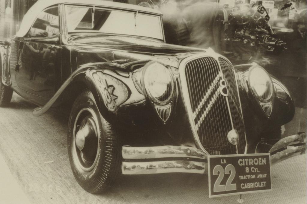 Citroen Traction Avant 22 CV Achtzylinder 1934