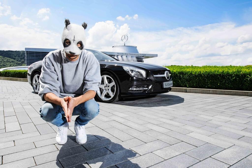 Cro ist Mercedes-Benz Markenbotschafter