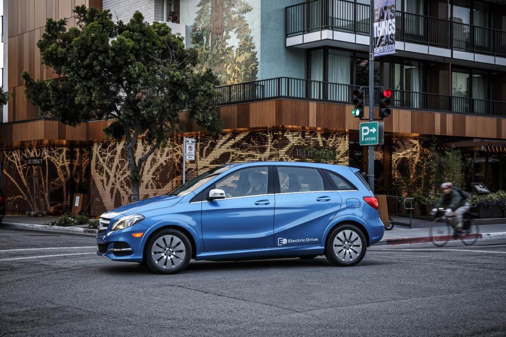Daimler startet sein Brennstoffzellen-Auto erst 2017