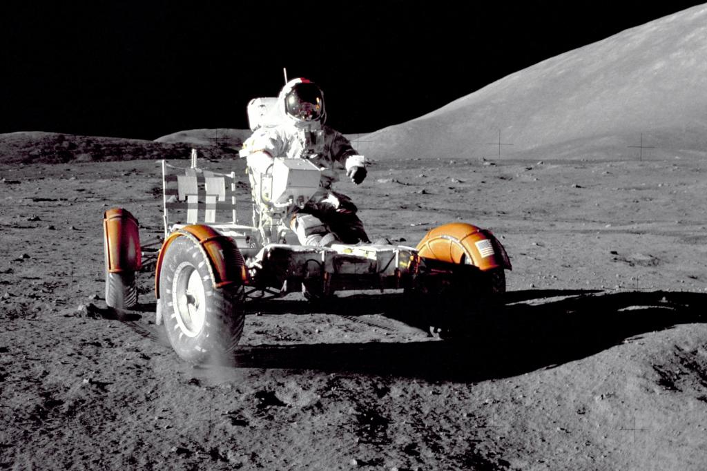 Das Auto der Apollo-17-Mission