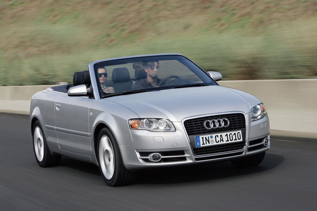 Den A4 gibt es auch als Cabrio