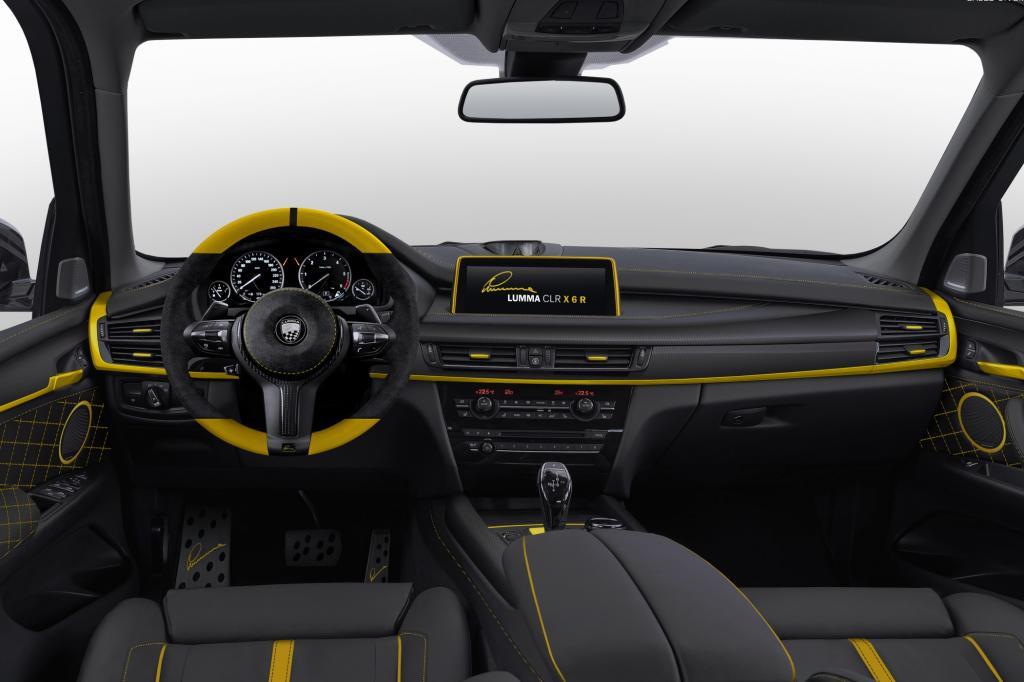 Den Fahrgastraum des neuen X6 hat der Tuner aus dem schwäbischen Winterlingen auch nicht im Ursprungszustand gelassen.