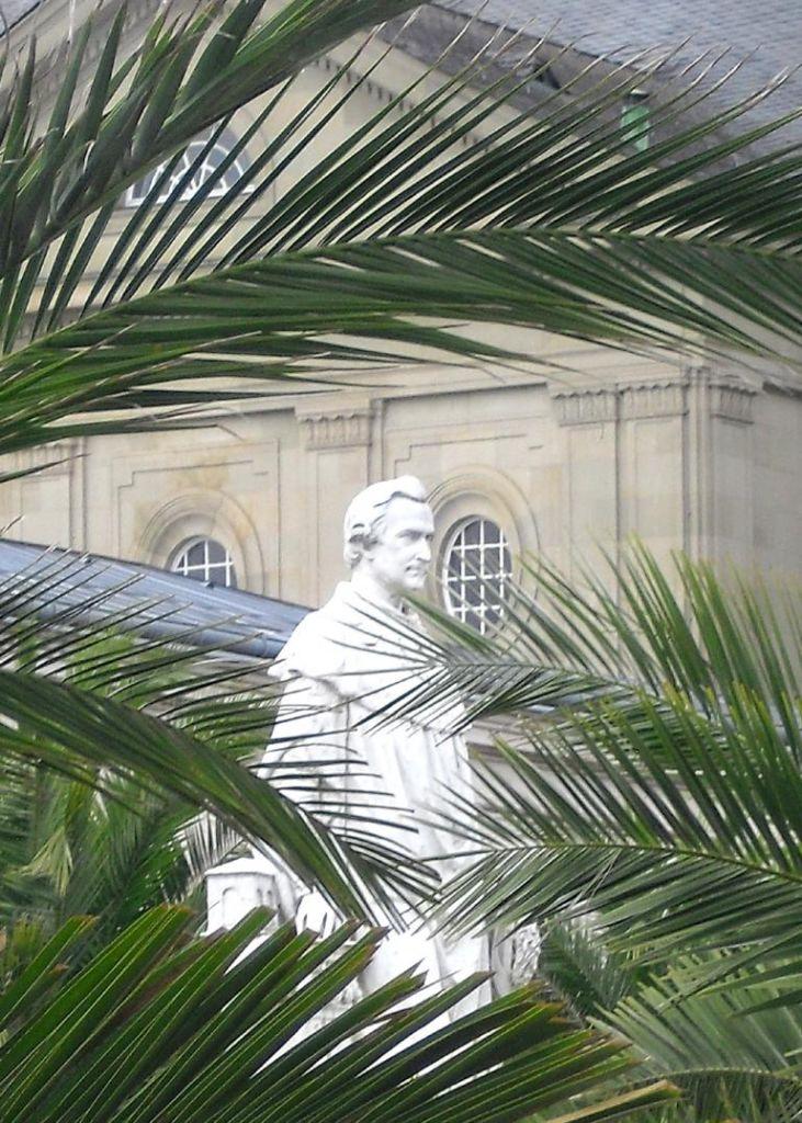 Denkmal im Kurgarten zur Erinnerung an König Ludwig I. von Bayern.