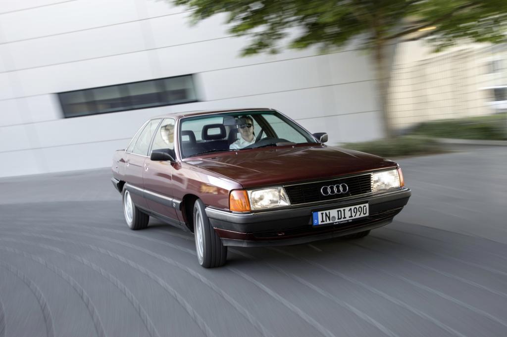 Der Audi 100 TDI debütierte 1989