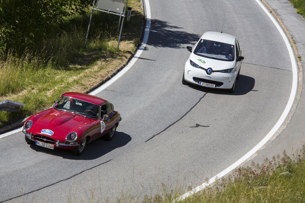 Der Renault Zoe war auch dabei