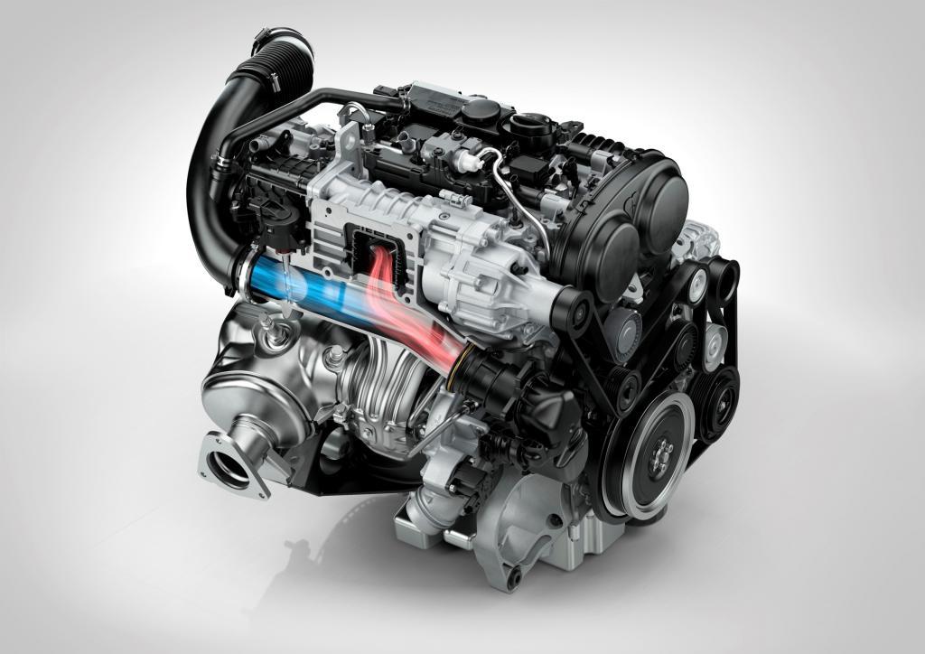 Der Vierzylinderbenziner deckt ein Leistungsband von 140 PS bis zu 306 PS ab