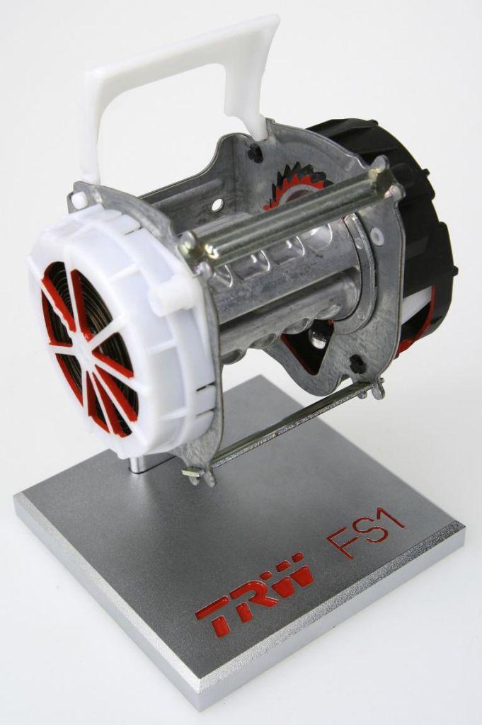 Der Öko-Roller - Neues Sicherheitsgurt-System von TRW