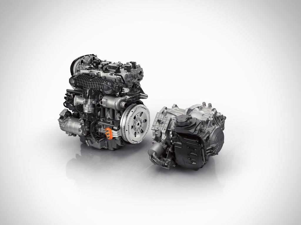 Der neue Antrieb aus Benziner und Elektromotor