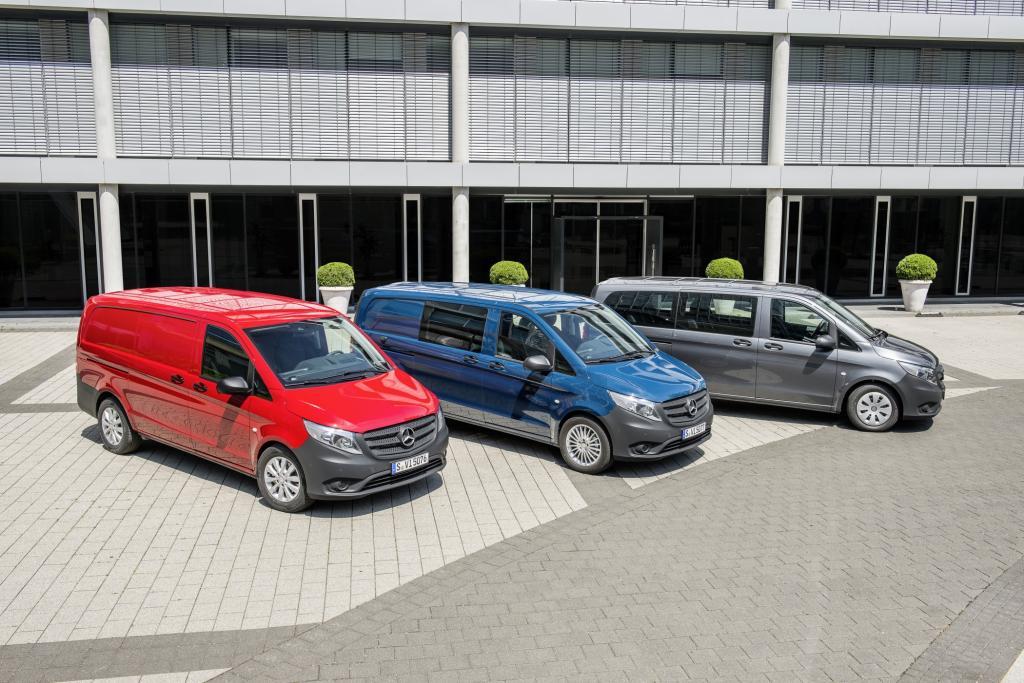 Der neue Vollprofi unter den mittelgroen Vans bis 3,5 Tonnen kommt in zahlreichen Varianten