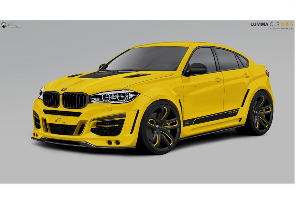 Der neue X6 hat noch nicht einmal die Showräume der BMW-Händler erreicht, da hat Lumma Design schon das erste Tuning parat.