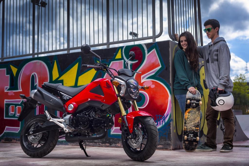 Dickreifen Exot Honda MSX 125