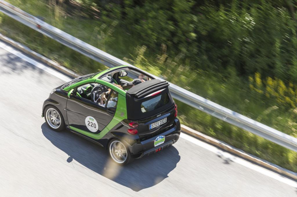 Die Oldtimertour im Silvretta-Gebiet zählt zu den wenigen Rallyes bei denen nicht nur die Lieblinge von gestern ihr Bestes geben
