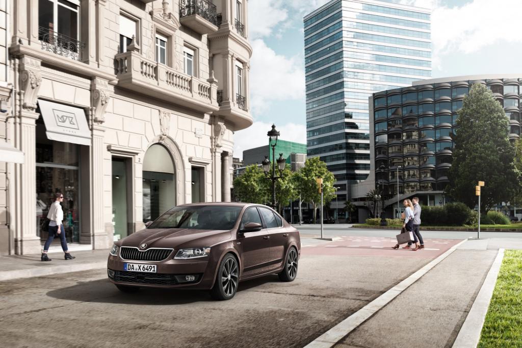 Die besonders elegante und umfangreiche Ausstattungsversion L&K, steht knftig auch fr den Octavia bereit.