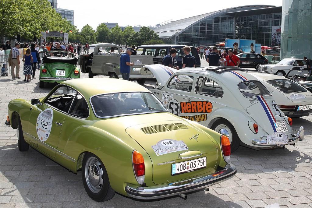 Donau Classic 2014: Mehr als 200 Klassiker durchqueren Zentralbayern