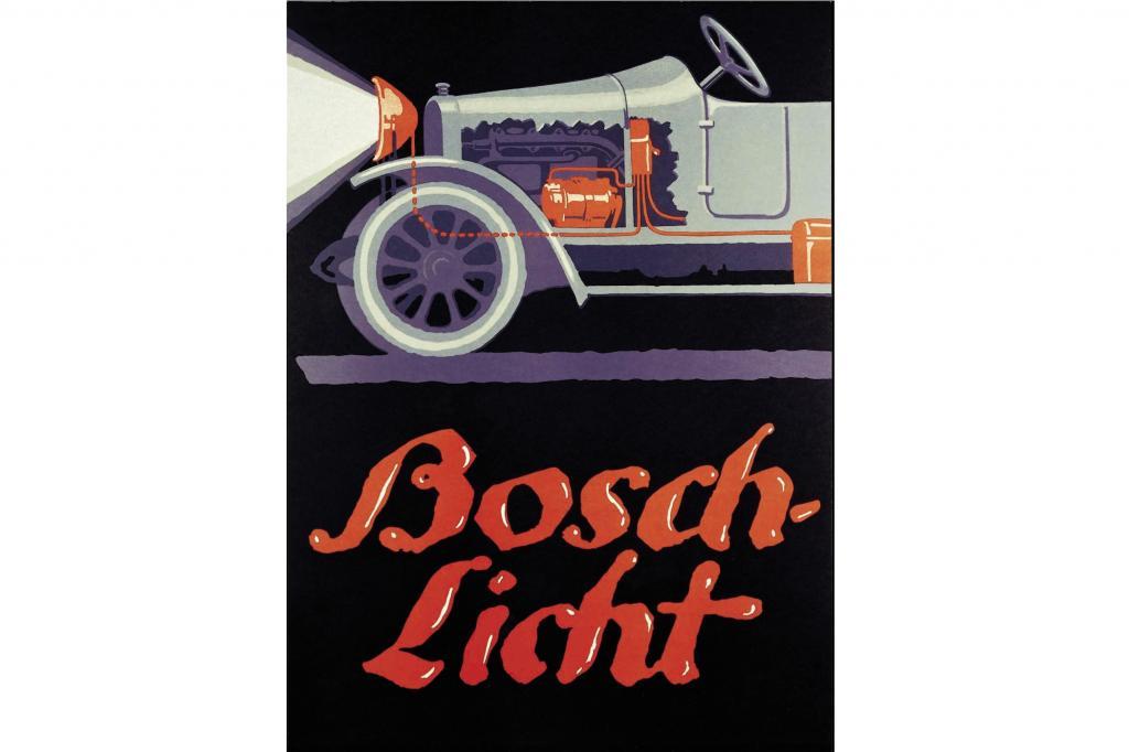 Ein Werbeplakat von Bosch von 1913