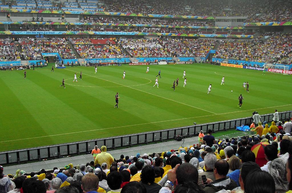 Erfolgreich: Deutschland spielt in Recife gegen die USA, gewinnt am Ende 1:0.