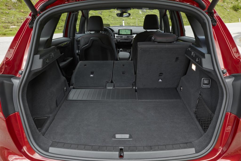 Erste Fahrt im BMW 2er Active Tourer - Eilige Familie
