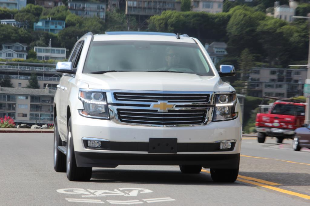 Erste Fahrt im Chevrolet Tahoe - Heute ein König