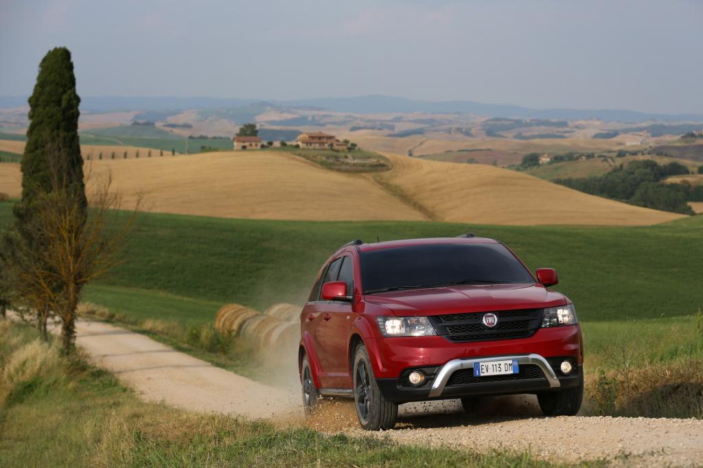 Erste Fahrt im Fiat Freemont Cross - Feel Free