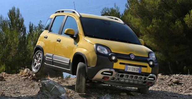 Erste Fahrt im Fiat Panda Cross - Wackerer Winzling