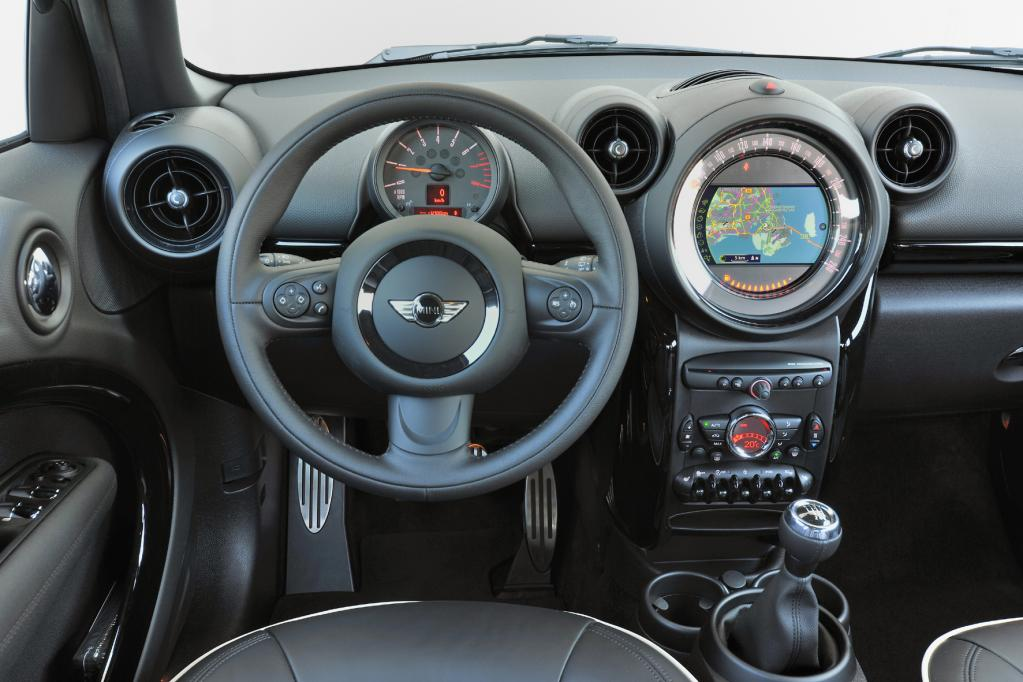 Erste Fahrt im Mini Cooper S Countryman - Kosmetik der Kleinigkeiten
