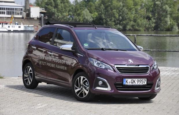 Erste Fahrt im Peugeot 108 - Très chic