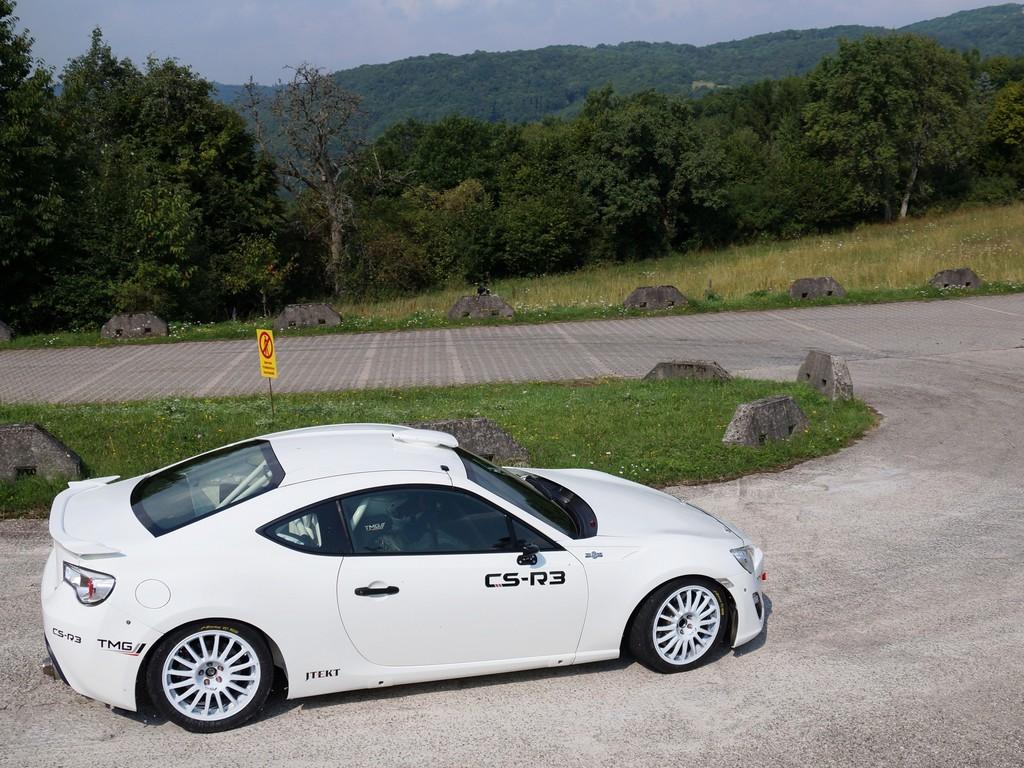 Erster Auftritt fr den Toyota GT86 CS-R3